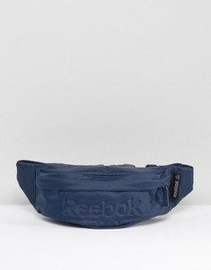 Темно-синяя сумка-кошелек на пояс Reebok AJ5937 - Темно-синий