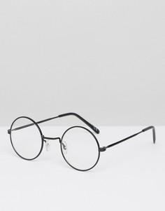 Круглые очки Jeepers Peepers - Темно-синий