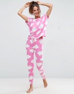 Пижама с футболкой и леггинсами ASOS - Мульти