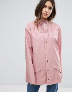 Непромокаемая куртка Rains - Розовый