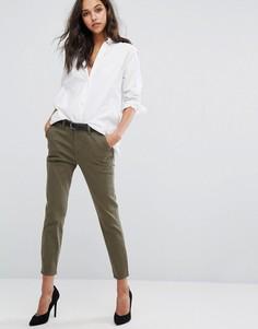 Суженные книзу брюки DL1961 Jessica Alba X DL - Зеленый