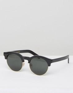 Черные круглые солнцезащитные очки Han Kjobenhavn - Черный