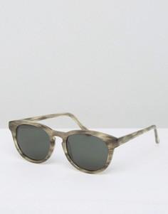 Круглые солнцезащитные очки Han Kjobenhavn Timeless Wolf - Серый