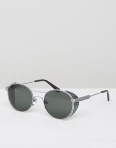 Солнцезащитные очки в стальной оправе Han Kjobenhavn Outdoor - Черный