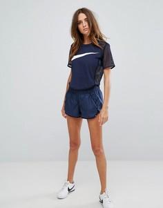 Синие шорты с галочкой Nike - Мульти