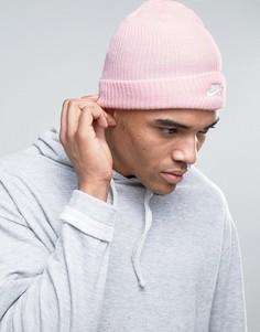 Розовая шапка-бини Nike 628684-612 - Розовый