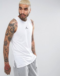 Белая футболка Nike Jordan 23 Tech Dry 838859-100 - Белый