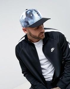 Бейсболка с мраморным принтом Nike 882768-010 - Серый