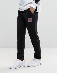 Черные флисовые джоггеры Nike Air Heritage 832164-010 - Черный
