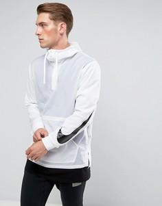 Белая куртка с капюшоном Nike Hooded 833866-100 - Белый