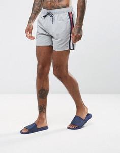 Серые шорты для плавания с логотипом-флагом Tommy Hilfiger THD - Серый