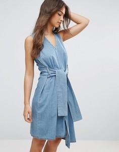 Асимметричное платье Cheap Monday Rizzle - Синий