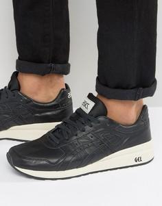 Черные кожаные кроссовки Asics GT-II Premium H7L2L 9090 - Черный