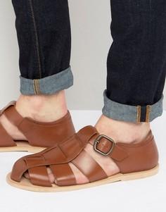 Гладиаторские сандалии Dead Vintage - Рыжий