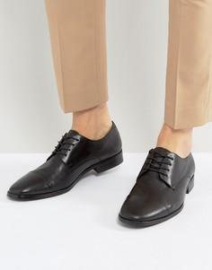 Туфли дерби со вставкой на носке ALDO Boloeil - Черный