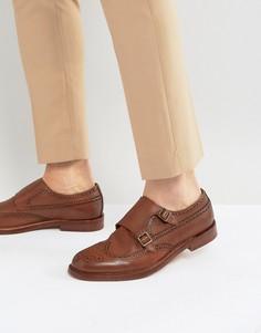 Замшевые оксфорды со вставкой на носке ALDO Briladien - Рыжий