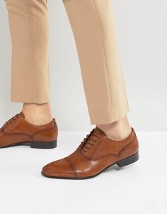 Оксфорды со вставкой на носке ALDO Saylian - Рыжий