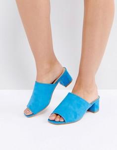 Мюли на среднем каблуке Truffle - Синий
