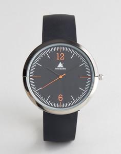 Часы с резиновым ремешком ASOS - Черный