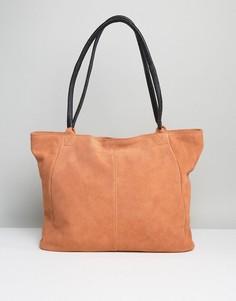 Замшевая сумка ASOS - Оранжевый