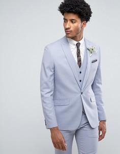 Синий приталенный пиджак Farah Wedding - Синий