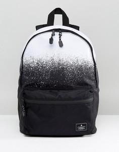 Рюкзак с монохромным принтом и эффектом омбре ASOS - Черный