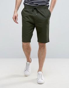 Повседневные шорты со шнурком Troy - Зеленый