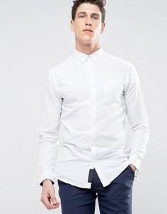 Рубашка с добавлением льна Produkt - Белый