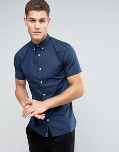 Рубашка с короткими рукавами Produkt - Темно-синий