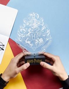 Светильник в виде герба школы Хогвартс Гарри Поттера - Мульти Paladone