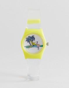 Часы с фламинго ASOS - Мульти