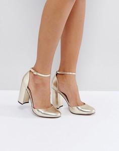 Туфли на каблуке ASOS PRIYA - Золотой