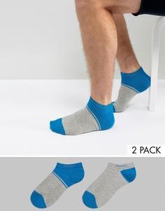 2 пары низких носков BOSS by Hugo Boss - Зеленый