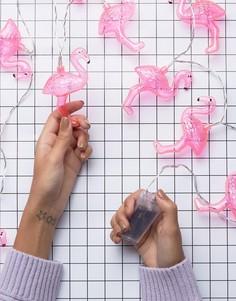 Лампочки-гирлянды в виде фламинго Fizz - Мульти