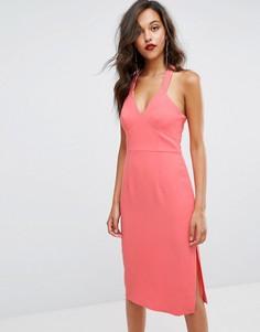 Коралловое облегающее платье BCBGeneration - Оранжевый