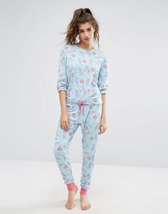 Пижамный комплект Chelsea Peers Furrmaids - Мульти