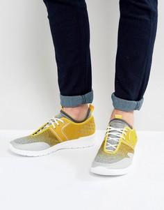 Желтые кроссовки для бега BOSS Green by Hugo Boss - Желтый