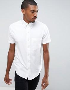 Белое поло на пуговицах с одним карманом Abercrombie & Fitch - Белый