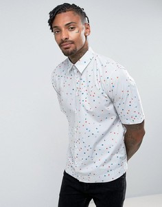 Рубашка с короткими рукавами и принтом Diesel - Серый