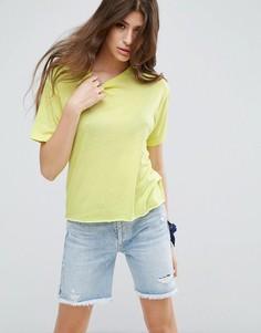 Свободная футболка ASOS - Зеленый