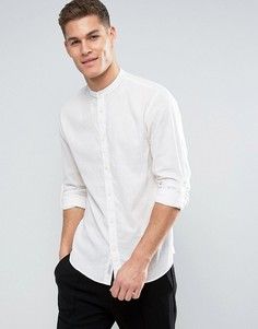 Узкая рубашка с воротником на пуговице Jack & Jones Originals - Белый