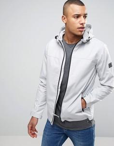 Легкая куртка с капюшоном Jack & Jones Core - Кремовый