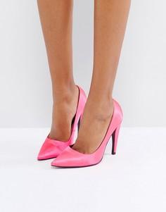 Туфли на каблуке с острым носком ASOS PROSECCO - Розовый