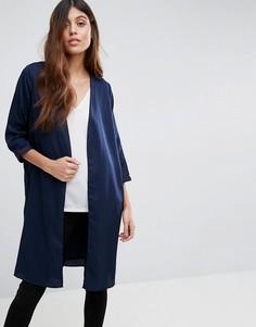 Длинный пиджак с цветочной отделкой Vero Moda - Мульти