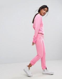 Облегающие спортивные брюки Wildfox Malibu - Розовый