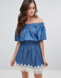 Джинсовое платье Liquorish - Синий