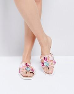 Декорированные шлепанцы Miss KG Rihanne - Розовый