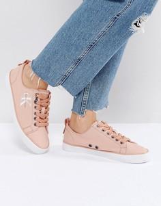 Розовые кроссовки Calvin Klein Jeans - Розовый