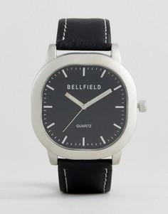 Часы с черным ремешком Bellfield - Черный