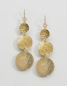 Серьги Made Mathiuri - Золотой